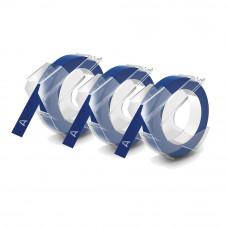 DYMO 3D Lints Mehhaanilisele Etiketiprinterile 9mm x 3m / sinine (S0847740) – 3 tk.