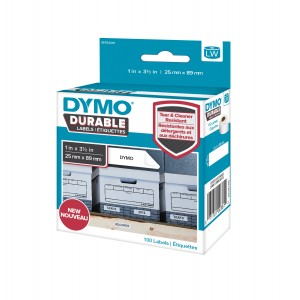 DYMO Durable Industrial Labels 25 x 89mm / (1976200)