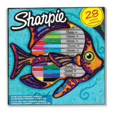 SHARPIE Komplekt Fish Fine 28 tk. (2061125)