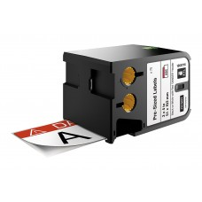 DYMO XTL Pre-Sized Safety Label 51 mm x 102 mm / black on white /Red Header & Pre-Printed DANGER (1868716)