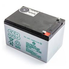 Akumulator AGM SSB SBL 12V-12Ah do UPS APC, Ever, Fideltronik, Eaton Powerware