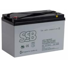 Akumulator AGM SSB SBL120-12i(sh) 12V 120Ah - AGM bezobsługowy