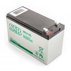 Akumulator AGM SSB SBL9-12 12V 9Ah do UPS APC, Ever, Fideltronik, Eaton Powerware