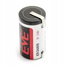 1 x Bateria litowa EVE ER34615CNR 3.6V Li-SOCL2 D, LS33600, SL-780, TL-2300, TL-4930, XL-200F