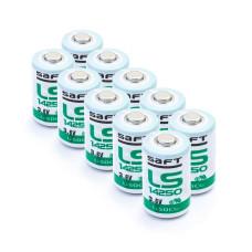 10 x Bateria litowa Saft LS14250 3.6V Li-SoCL2 1/2AA, SL-350, SL-750, SB-AA02, TL-2150, TL-4902, XL-050F
