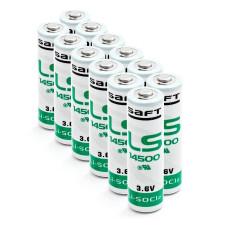 12 x Bateria litowa Saft LS14500, LS 14500 3.6V Li-SOCl2 AA