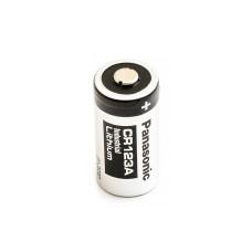 1 x Bateria litowa Panasonic 3V CR123A, DL123A, EL123A, CR17345, CR17350, K123LA