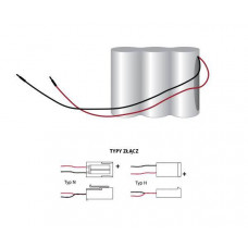 Bateria do systemów oświetlenia awaryjnego 3.6V 2.5Ah PAK-36-25-H