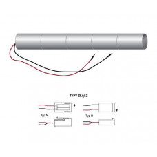 Bateria do systemów oświetlenia awaryjnego 6V 2.5Ah LAS-60-25-H