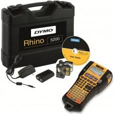 DYMO Rhino 5200 Etiketiprinter (plastikkohvris) + 1 tk. Rhino lint (S0841430)