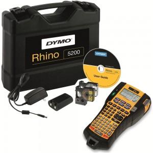 DYMO Rhino 5200 (plastikkohvris) Printer  + 2 tk. Rhino Lint / (S0841430)