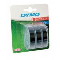 DYMO 3D Lint 9 mm x 3m / mustaga (S0847730) – 3 tk.