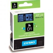 DYMO D1 Lint 19mm x 7m / must sinisel (45806 / S0720860)