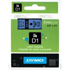 DYMO D1 Lint 9mm x 7m / must sinisel (40916 / S0720710)