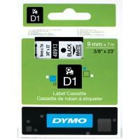 DYMO D1 Lint 9mm x 7m must valgel / (40913 / S0720680)